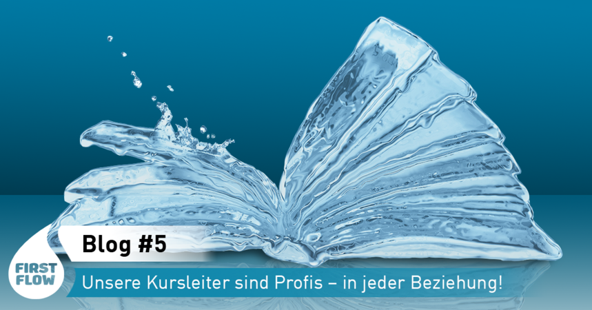 Buch aus Wasser Blog First Flow