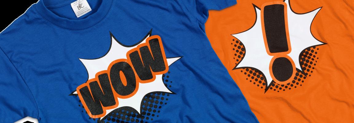 FirstFlow Tshirts orange blue
