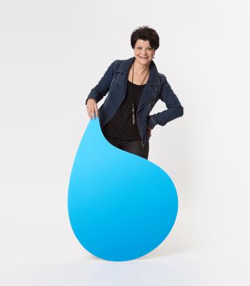 Barbara Mitarbeiterin H2O Wassererleben AG
