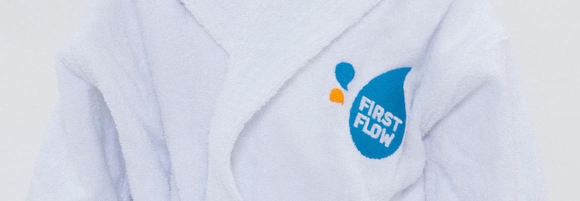 FirstFlow peignoir de bain pour bébés
