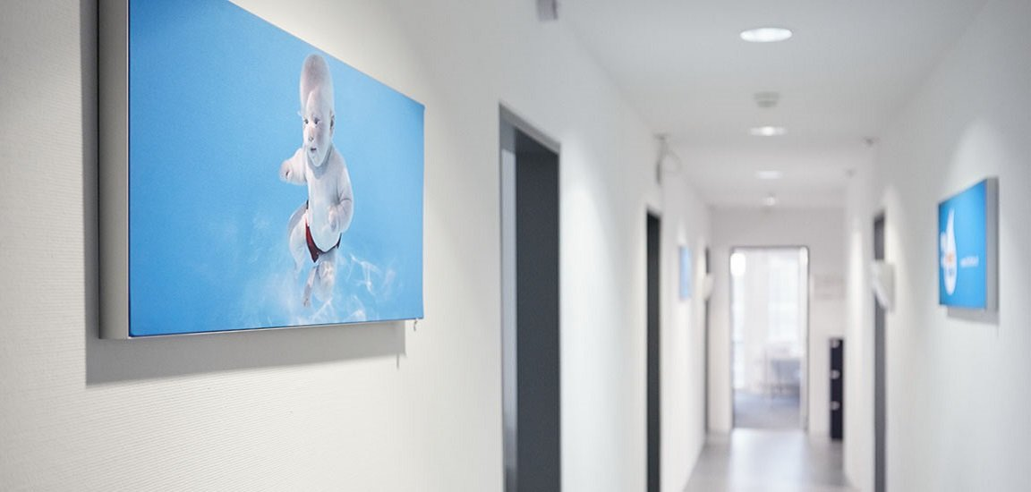 office H2O Wassererleben AG corridor